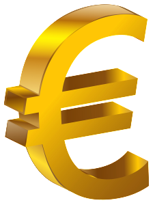 Transparent_Gold_Euro_PNG_Clipart