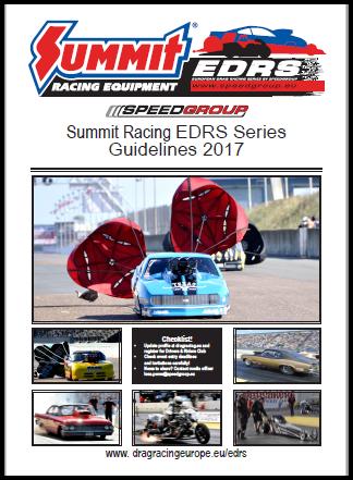 Guidelines Summit Racing EDRS Series 2017