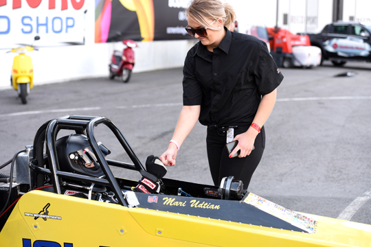 Maja Udtian joins RFM for 2019 FIA European Top Fuel