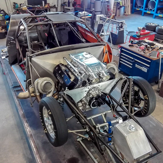 Team Pro8 to compete in FIA Pro Modified with a new Pro Line