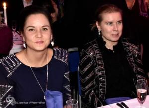 LMP5312 Bilsportsgalan 2017Emelie Carlswärd and Åsa Kinnemar