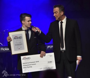 LMP5453 Bilsport Award 2017 Jr Oskar Norling