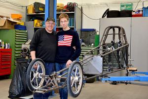 JrD Patrik Lind and dad Micke Lind