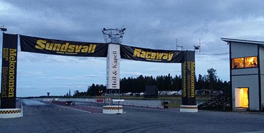 Sudsvall raceway
