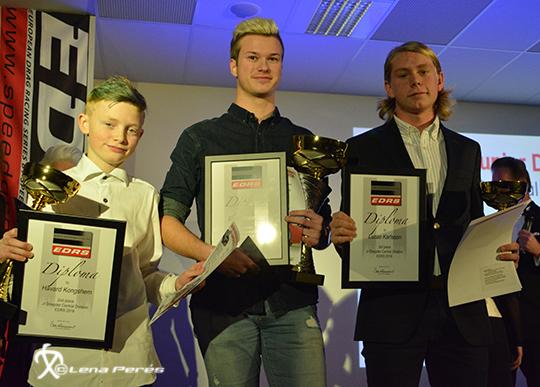 JrD Havard Kongshem, Simon Andersson, Lucas Karlsson