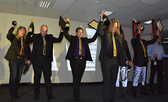 FUNN Award Team Bankrobber