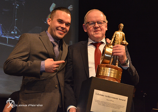 Lifetime Achivement Award Stig Sjöberg av Jonnie Lindberg